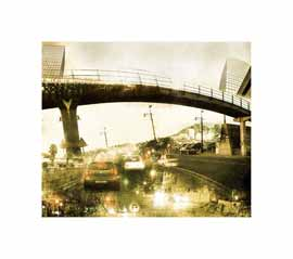 Nuances: Bridging Over - Limited edition print by Janet Botes