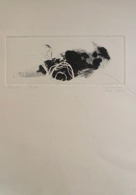 Bird - Printmaking by Sue Kaplan