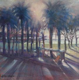 Camps Bay - Oil Painting by Karen Wykerd