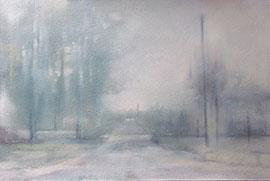 All Is Quiet On The Anonymous Route - Painting by Joanne Reen