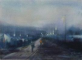 Going Home - Painting by Joanne Reen