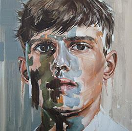 Youth Without Youth - Painting by Corné Eksteen
