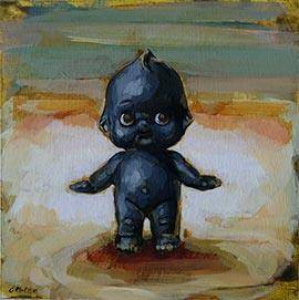 Kewpie - Painting by Grace Kotze