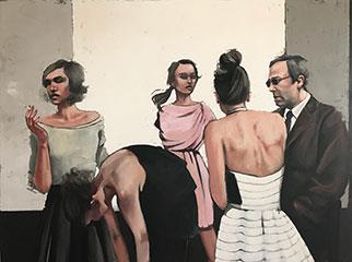 Intermission - Painting by Mila Posthumus