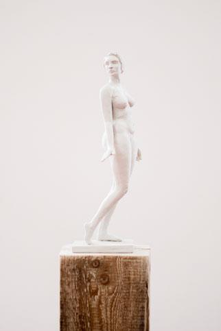 Being (white resin) Edition 1/24 - Sculpture by Sarah Walmsley