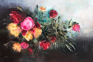 Where Flowers Bloom - Painting by Heidi Shedlock