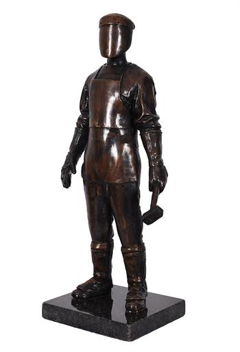 The Craftsman ed. 3/12 - Bronze Sculpture by Jonathan van der Walt
