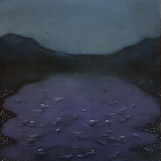 Pond At The End Of The World - Painting by Rene Johansen