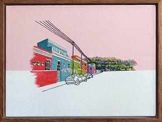 Wale Street: Bo Kaap - Mixed Media by Karen Wykerd