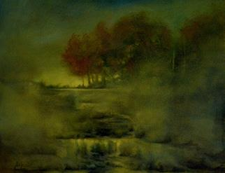 Dust Storm - Painting by Nicolas De Jesus