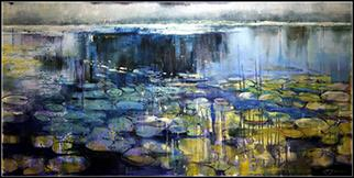 Nymphaea I - Painting by Joanne Reen