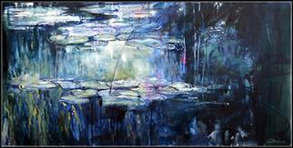 Nymphaea IV - Painting by Joanne Reen