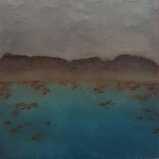 Littoral Space - Painting by Rene Johansen