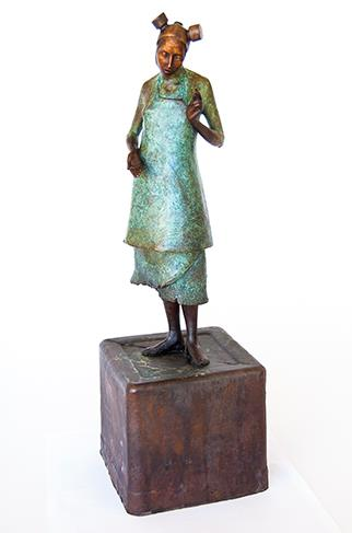 Studio Madonna - Sculpture by Elizabeth Balcomb