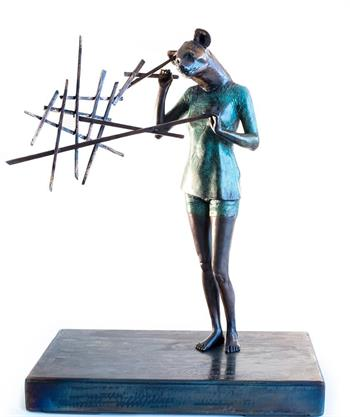 I Am - Sculpture by Elizabeth Balcomb