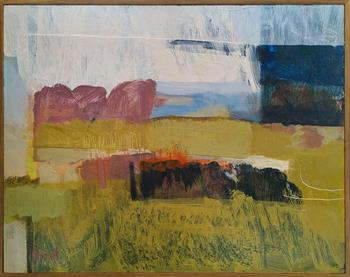 Field #1 - Painting by Tanja Truscott