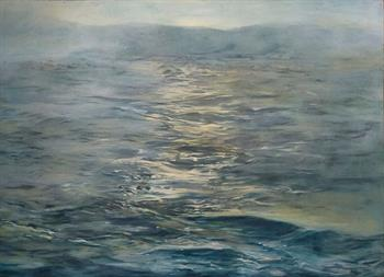 Sea Fret - Painting by Laurel Holmes