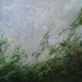 Below The Waters Of Sleep And Dreams I - Painting by Laurel Holmes