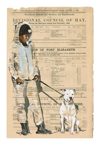 Dog Tickets ed.1/5 - Giclée Print by Lisette Forsyth