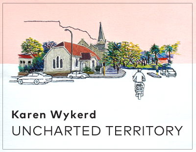 UNCHARTED TERRITORY : a solo exhibition by Karen Wykerd
